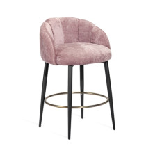 Mila Counter Stool - Violet-Rose | Gracious Style