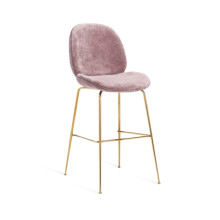 Luna Bar Stool - Violet-Rose | Gracious Style