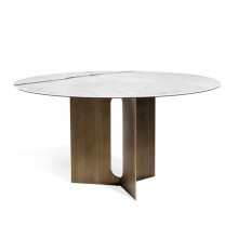 Pierre Dining Table - Bronze | Gracious Style