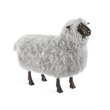 Jean-Luc Sheep Sculpture - Grey | Gracious Style