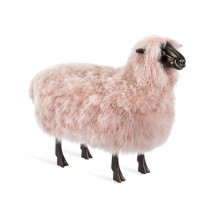 Chantal Sheep Sculpture - Blush | Gracious Style