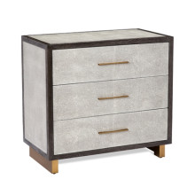 Maia 3 Drawer Chest - Grey | Gracious Style