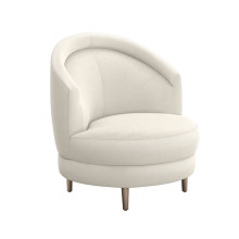 Capri Swivel Chair - Pearl | Gracious Style