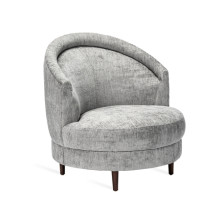 Capri Swivel Chair - Feather | Gracious Style