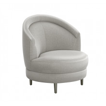 Capri Swivel Chair - Grey | Gracious Style