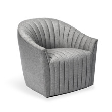 Channel Chair - Grey | Gracious Style
