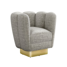 Gallery Brass Swivel Chair - Feather | Gracious Style