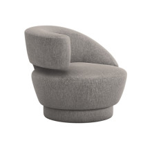 Arabella Left Chair - Granite | Gracious Style