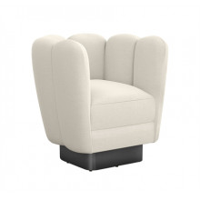 Gallery Gunmetal Swivel Chair - Pearl | Gracious Style