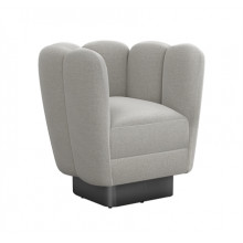 Gallery Gunmetal Swivel Chair - Grey | Gracious Style