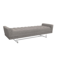 Luca King Bench - Granite | Gracious Style