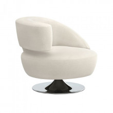 Isabella Left Chair Pearl | Gracious Style