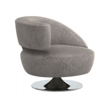 Isabella Left Chair Granite | Gracious Style