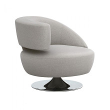 Isabella Left Chair Grey | Gracious Style