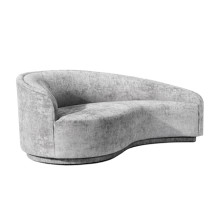 Dana Left Chaise - Feather | Gracious Style