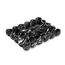 Bliss Scalloped Tray - Black | Gracious Style