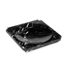 Haven Large Marble Candy Dish - Black | Gracious Style