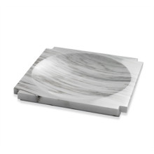 Haven Large Marble Candy Dish - Arabesca | Gracious Style