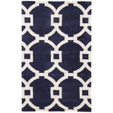 CT51 City Regency Dark Blue/White Rug | Gracious Style