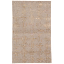 GES15 Genesis Banister Taupe/Gold Rug | Gracious Style
