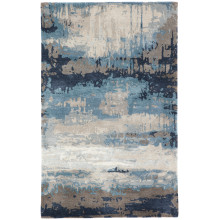 GES18 Genesis Benna Blue/Gray Rugs | Gracious Style
