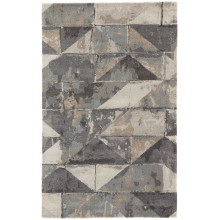 GES23 Genesis Conde Gray/Taupe Rug | Gracious Style