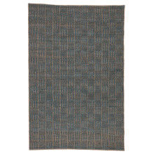 NTB04 Naturals Bermuda Lindo Beige/Blue Rugs | Gracious Style