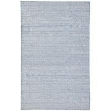 POE02 Poise Eulalia Blue/Ivory Rug | Gracious Style