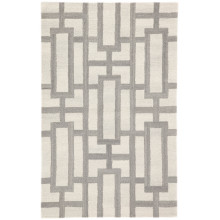TOW07 Town Searcy Cream/Gray Rug | Gracious Style