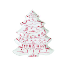 Country Estate Winter Frolic Ruby Dinnerware | Gracious Style