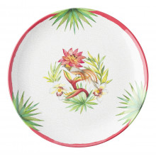 Flora and Fauna Melamine Dinnerware