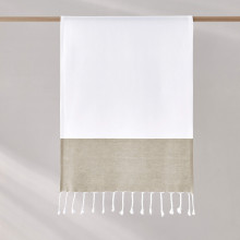 Peshtemal Hand Towel 18 x 28 in - Taupe | Gracious Style