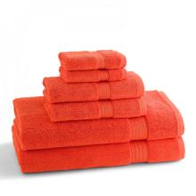 KassaDesign Brights Bath Towels Blood Orange | Gracious Style