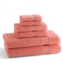 KassaDesign Brights Bath Towels Wild Salmon | Gracious Style