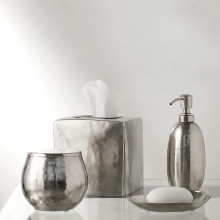 Nile Silver Bath Accessories | Gracious Style