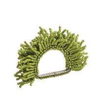 Carnival Napkin Ring Green