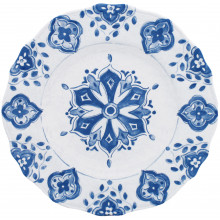 Moroccan Blue Melamine Dinnerware | Gracious Style