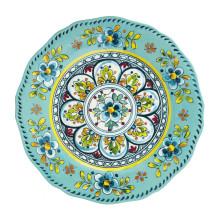 Madrid Turquoise Melamine Dinnerware