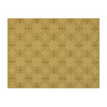Anneaux Gold Rect 14 X 19 In 100% Cotton Placemat