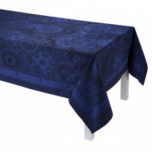 Porcelaine China Blue Table Linens | Gracious Style