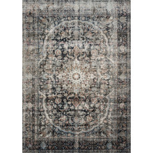 ANASTASIA AF-24 CHARCOAL/SUNSET Rugs | Gracious Style