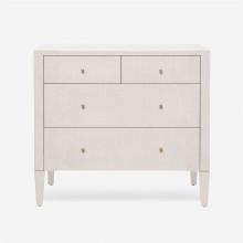 Conrad Dresser French Gray Faux Raffia | Gracious Style