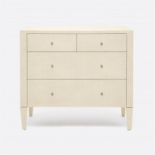 Conrad Dresser Off-White Faux Raffia | Gracious Style