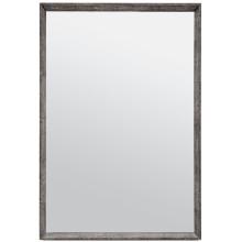 David Cool Gray Realistic Faux Shagreen Rectangular Mirror | Gracious Style