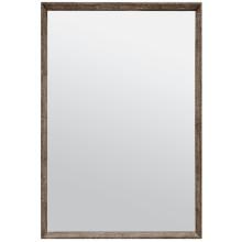 David Dark Mushroom Realistic Faux Shagreen Rectangular Mirror | Gracious Style