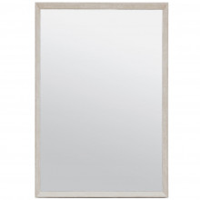 David Sand Realistic Faux Shagreen Rectangular Mirror | Gracious Style