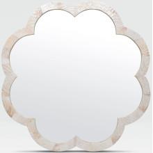 Fiona Kabibe Shell Scalloped Mirror | Gracious Style