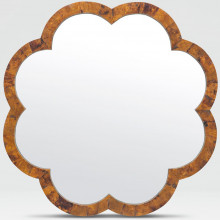 Fiona 38 in D Young Pen Shell Scalloped Mirror | Gracious Style