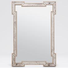 Norma Antiqued/Palladian Silver Rectangular Mirror/Oak Rectangular Mirror | Gracious Style