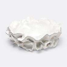 Coco Bowl White/Silver Faux Coral | Gracious Style